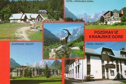 - SLOVENIE. - POZDRAV IZ KRANJSKE GORE - - Slovénie