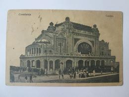 Constanta-Casino,Romanian Used Postcard From 1923 - Roumanie