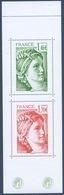 N° 5185 Et 5186 Issu Du Carnet 40 Ans Sabine De Gandon,  Valeur Faciale 1,46 Et 1,70 €; - France