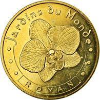 France, Jeton, Jeton Touristique, Royan - Jardins Du Monde N°1, 2009, MDP, TTB - France
