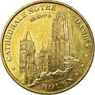 France, Jeton, Jeton Touristique, 76/ Cathédrale Notre-Dame - Rouen, 2012, MDP - France