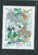 FRANCE 2017 ARBRES DE MEDITERRANEE NEUF - YT 5164                                  TDA266B - France