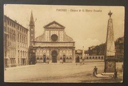 Cartolina Firenze Chiesa Di S. Maria Novella - Viaggiata - Firenze