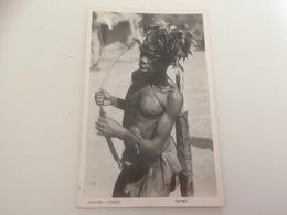 BL - 1200 - OUGANDA - CONGO - Pigmies - Chasseur à L'Arc - Oeganda