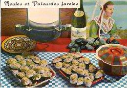 Recette De Cuisine Moules Et Palourdes Farcies 1974 CPM Ou CPSM - Recettes (cuisine)