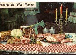 Recette De Cuisine La Potée  CPM Ou CPSM - Recettes (cuisine)