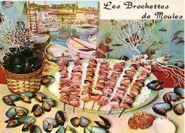 Recette De Cuisine Les Brochettes De Moules 1981 CPM Ou CPSM - Recettes (cuisine)