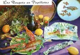 Recette De Cuisine Les Rougets En Papillotes 1973 CPM Ou CPSM - Recettes (cuisine)