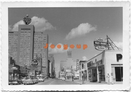 Photo Texas National Bank Cars Automoviles Houston USA 1958 - Cars