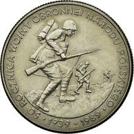 Monnaie, Pologne, 500 Zlotych, 1989, Warsaw, SUP, Copper-nickel, KM:185 - Pologne