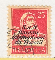SWITZERLAND  3 O 11   (o)  LABOR  UNION  TRAVAIL - Dienstzegels