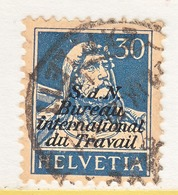 SWITZERLAND  3 O 13   (o)  LABOR  UNION  TRAVAIL - Officials
