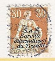 SWITZERLAND  3 O 14   (o)  LABOR  UNION  TRAVAIL - Dienstzegels