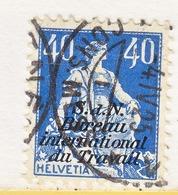 SWITZERLAND  3 O 16   (o)  LABOR  UNION  TRAVAIL - Dienstzegels