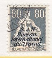 SWITZERLAND  3 O 21   (o)  LABOR  UNION  TRAVAIL - Dienstzegels