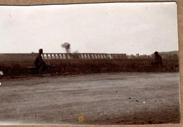 Tirage Photo Albuminé Originale Colroy-la-Grande (Vosges) Viaduc & Voie Ferrée Saint-Dié à Saale & Fumée Du Train Au Loi - Photos
