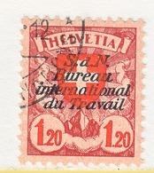 SWITZERLAND  3 O 28 A  No Grill    (o)  LABOR  UNION  TRAVAIL - Dienstzegels