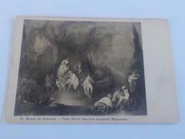 CPA  TABLEAU  DE PATER (ECOLE FRANCAISE) BAIGNEUSES NON VOYAGEE - Peintures & Tableaux
