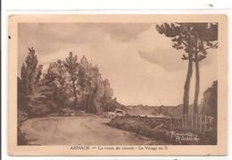 72 - ARNAGE - La Route Du Circuit - Le Virage En S. - France