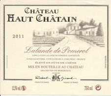 LALANDE-DE-POMEROL CHATEAU HAUT CHATAIN 2011 (4) - Bordeaux