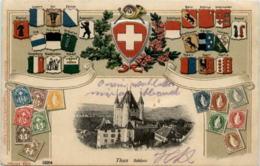 Thun - Prägekarte - BE Berne