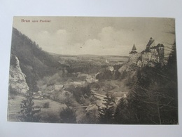 Bran-Dracula Castle,Romanian Used Postcard From 1936/1933 - Roumanie