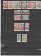 17 TIMBRES ININI NEUFS** & * + SANS GOMME DE 1932-1939   Cote :17,40 € - Timbres