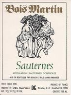 SAUTERNES  BOIS MARTIN (4) - Bordeaux