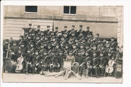 Carte Photo Fanfare Militaire 5e Régiment D'infanterie à Identifier à Localiser ( Photographe Bouhours à LE PERREUX  ) - Le Perreux Sur Marne