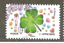 FRANCE 2018 Adhésif  Y T N ° 1569  Oblitéré Cachet Rond - France