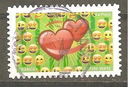 FRANCE 2018 Adhésif  Y T N ° 1565  Oblitéré Cachet Rond - France