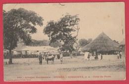 Guinée  - Sougueta - Cour Du Poste - 1909 ( Voir Verso ) - French Guinea