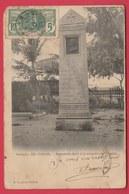 Sénégal  - Dakar - Monument élevé à La Mémoire De Blanchet - 1906  ( Voir Verso ) - Senegal