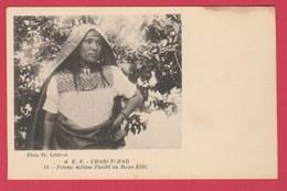 Chari-Tchad - Femme Métisse Foulbé Au Mayo Kébi ( Voir Verso ) - Tchad