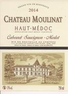 HAUT-MEDOC  CHATEAU MOULINAT 2014 (4) - Bordeaux