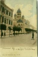 Františkovy Lázně - HOSPITAL + SYNAGOGUE - MAILED TO LUCIANO MORPURGO ( SPLIT / SPALATO ) 1900s (BG2084) - Tchéquie