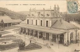 FIGEAC - La Gare, Côté De La Voie   141 - Figeac