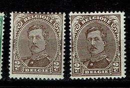 136B + Ba  **  7.5 - 1915-1920 Albert I