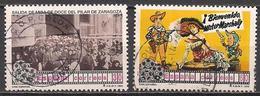 Spanien  (1996)  Mi.Nr.  3257 + 3258  Gest. / Used  (4ae05) - 1931-Heute: 2. Rep. - ... Juan Carlos I