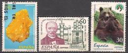 Spanien  (1996)  Mi.Nr.  3260 + 3261 + 3263  Gest. / Used  (4ae13) - 1931-Heute: 2. Rep. - ... Juan Carlos I