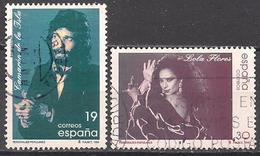 Spanien  (1996)  Mi.Nr.  3289 + 3290  Gest. / Used  (4ae12) - 1931-Heute: 2. Rep. - ... Juan Carlos I