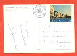 STORIA POSTALE -TIMBRO POSTALE ISOLA DEL TINO SU CARTOLINA - 1971-80: Storia Postale
