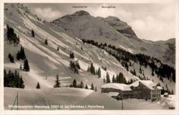 Wintersportplatz Nesselegg Bei Schröcken In Vorarlberg (3308) * 29. 12. 1930 - Schröcken