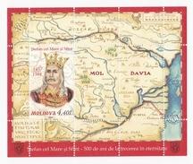 Moldova  Moldavie  Moldawien , 2004 ; Prince Stefan Cel Mare ;  Blok  ; MNH - Moldova