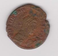Bronze De Théodose Ae 2 - 8. La Fin De L'Empire (363-476)
