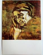 #12  ''My Mather'' By V. Dimitrov - Fine Art Big Size Postcard - Peintures & Tableaux