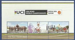 QATAR MNH 2016 ROAD WORLD CHAMPIONSHIPS CYCLE - Qatar