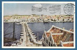 NEDERLANDSE ANTILLEN PONTONBRUG TE WILLEMSTAD 1956 - Antilles Neérlandaises