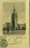 BELGIUM - COURTRAI  - LA TOUR DES PETITES HALLES - EDIT JUKES NAHRATH - 1900s (BG2085) - Kortrijk