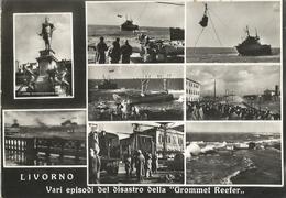 LIVORNO VARI EPISODI DEL DISASTRO DELLA GROMMET REEFER (158) - Livorno